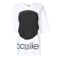 Bassike Oversized Dot T-Shirt - Branco