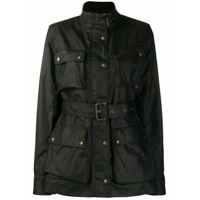 Belstaff Belted Shell Jacket - Preto