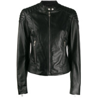 Belstaff Fitted Zipped Jacket - Preto