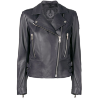 Belstaff Marvingt Leather Jacket - Azul