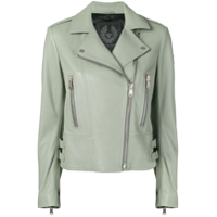Belstaff Marvingt Leather Jacket - Verde
