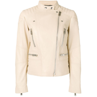 Belstaff Sidney Leather Jacket - Neutro