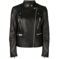 Belstaff Sydney Leather Jacket - Preto