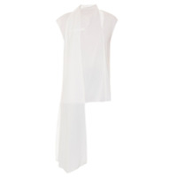Bianza Blusa Regata 'tie' - Off White
