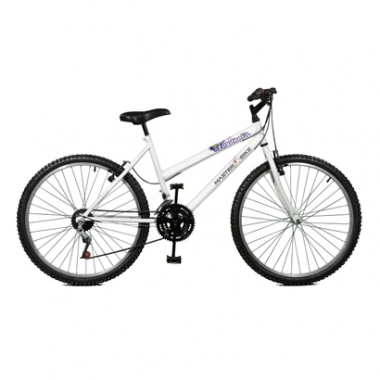Bicicleta Master Bike Aro 26 Emotion 18 Marchas V-Brake-Feminino