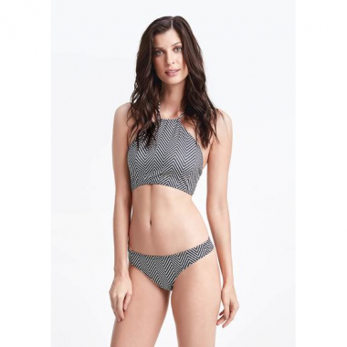 Biquíni Estampado Com Top Halter Neck