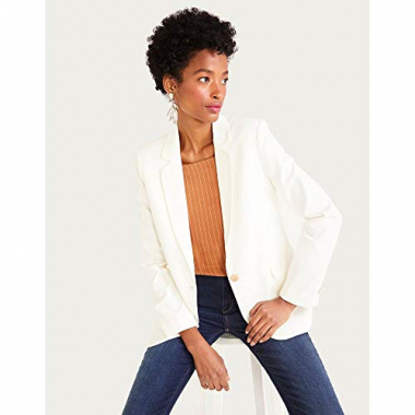 Blazer Crepe-Off White-42