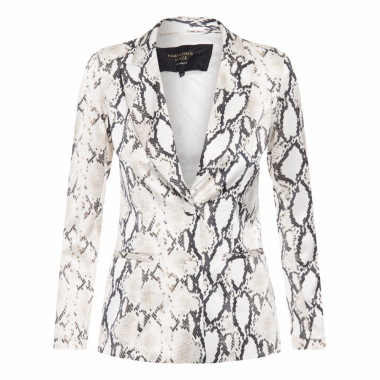 Blazer Feminino Adams - Animal Print