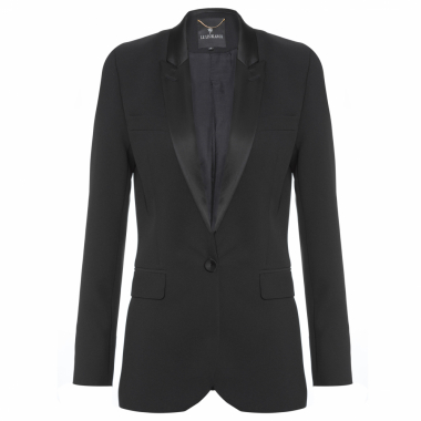 Blazer Feminino Smoking Ive - Preto