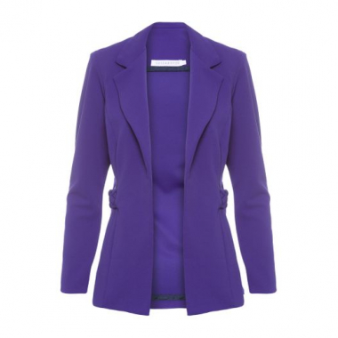 Blazer Fit Luiza Botto - Roxo