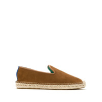 Blue Bird Shoes Espadrille Nobuck Com Ráfia - Marrom