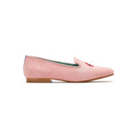 Blue Bird Shoes Loafer 'boca' De Camurça - Rosa
