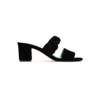 Blue Bird Shoes Mule 'thais' De Veludo - Preto