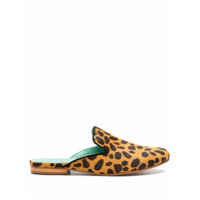 Blue Bird Shoes Slip On Comfort Em Pelo - Estampado