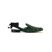 Blue Bird Shoes Slip On 'onça Colors' Jacquard - Verde