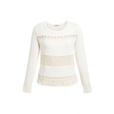 Blusa Eclectic Guipure Eclectic - Off White
