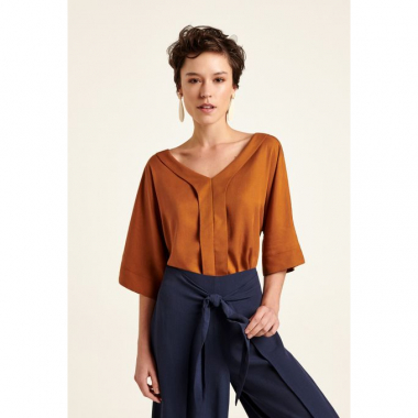 Blusa Famagusta Ocre