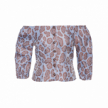 BLUSA FEMININA ANGELINA - ANIMAL PRINT