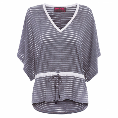 Blusa Feminina Top Ampla Magic - Cinza