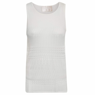 Blusa Feminina Top Tricot - Off White