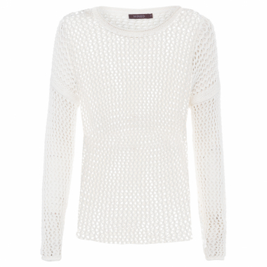 Blusa Feminina Tricot Summer Plot - Off White