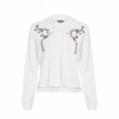 Blusa Moletom Bordado Iorane Nxt Lvl - Off White