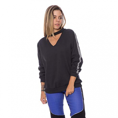 Blusa Moletom Chocker Taxi