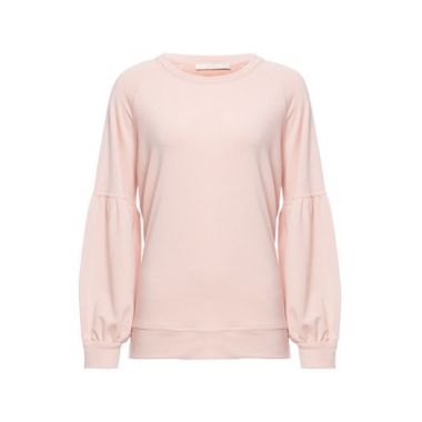 Blusa Moletom Neutro Color Animale - Rosa
