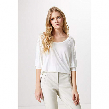 Blusa Pearl-Off White - Pp