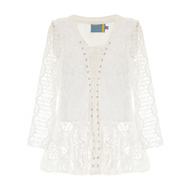 Blusa Renda Laces Cruise