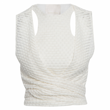 Blusa Tank Top Tkt 430 - Off White