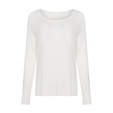 Blusa Tricot Canal - Off White