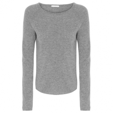 Blusa Tricot Cashmere Canal - Cinza