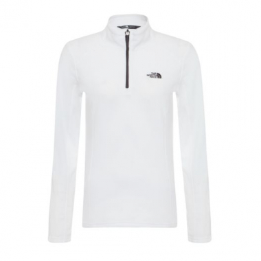Blusa W Glacier 1/4 Zip The North Face - Branco