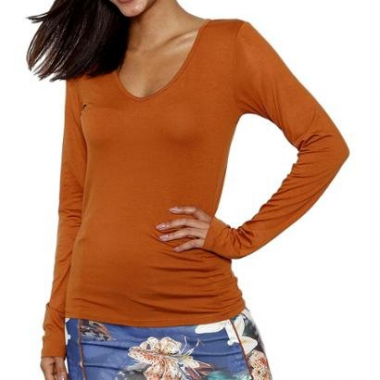 Blusa You Two Manga Longa Feminina-Feminino