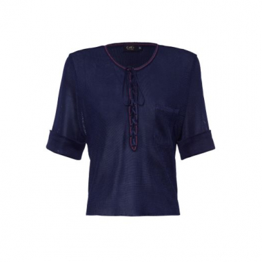 Blusa Young Gig Couture - Azul