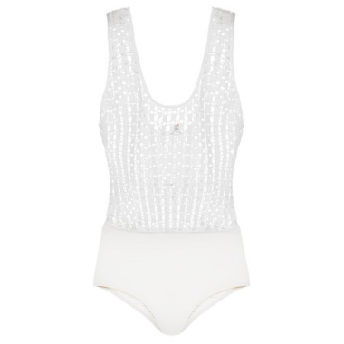 Body Blusê Ava Intimates - Off White