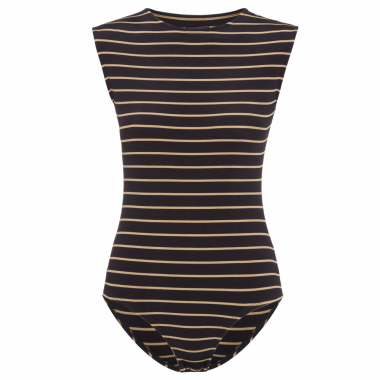 Body Navy Stripe - Preto