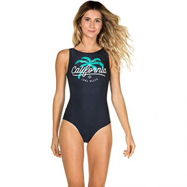 Body Regata Com Decote Canoa Long Beach Marinho M