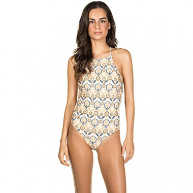 Body Regata Com Tiras Mandala Off White Comercial G