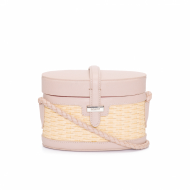 Bolsa Feminina Mini Box Bag - Bege