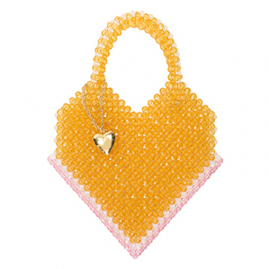 Bolsa Heart Of Glass Pataya Amarelo Gla
