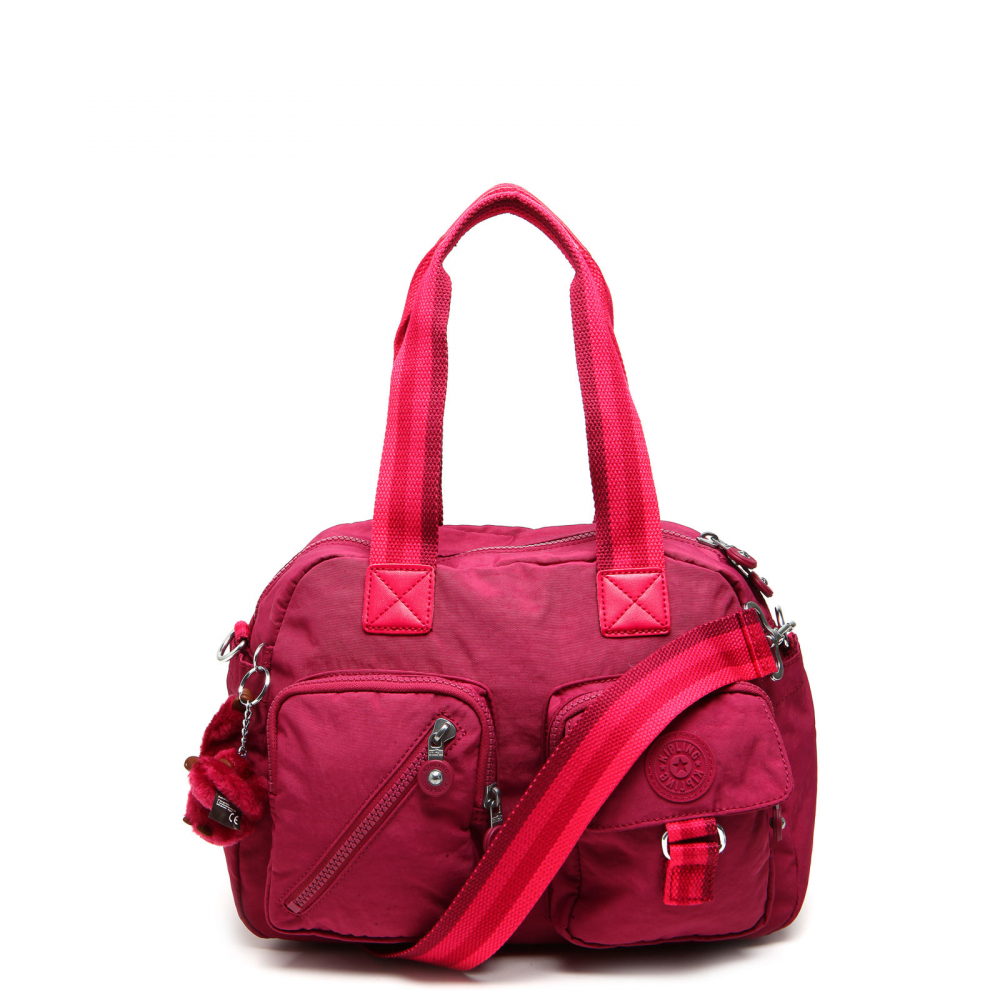 a7d104154 Bolsa Kipling Basic Ewo Defea Retro Red Rosa | iLovee