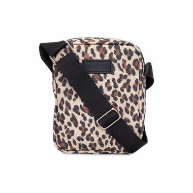 Bolsa Lona Onça Mini - Animal Print
