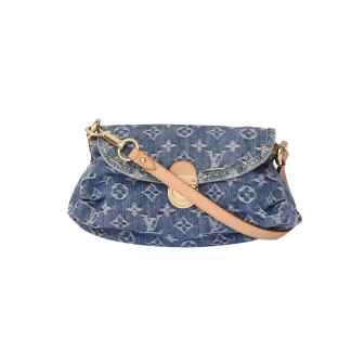 Bolsa Mini Pleaty Denim