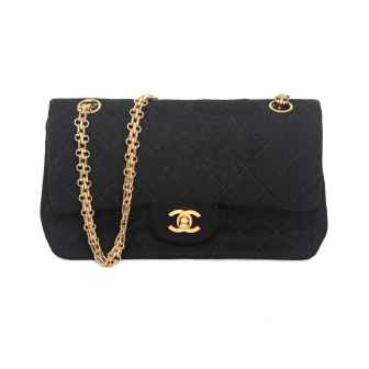 Bolsa Quilted Jersey Double Flap