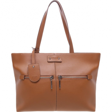 Bolsa Shopping Grande Tatianna Natural Tan | Arezzo