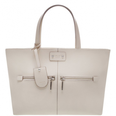 Bolsa Shopping Grande Tatianna Off White | Arezzo