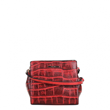 Bolsa Wj Mini Bag Crossbody Croco Feminina-Feminino