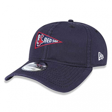 Boné New Era Aba Curva Dad Hat Boston Red Sox Azul - Mlb